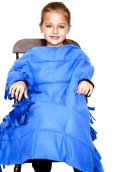 blanket girl in chair - WB