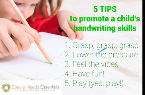 5 tips handwriting