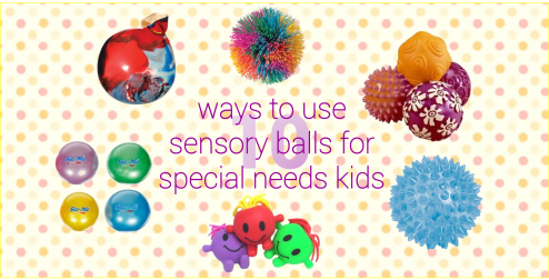 10 ways to use sensory balls