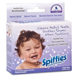 Grape tooth wipes - Special Needs Essentials