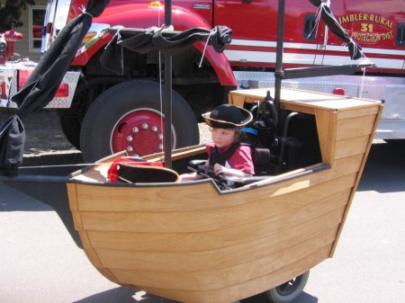 Awesome Pirate Ship Costume - Special Needs Essentials