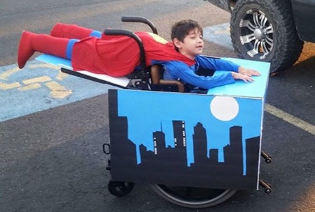 Wheelchair Superman - Special Needs Essentials